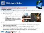 cacc key initiatives