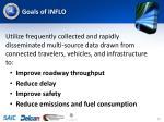 goals of inflo