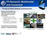 its research multimodal and connected