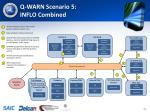 q warn scenario 5 inflo combined