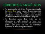 diretrizes akw kon