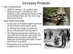 increase protests