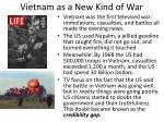 vietnam as a new kind of war