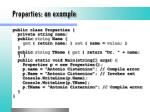 properties an example