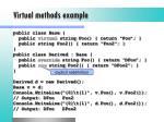 virtual methods example