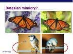 batesian mimicry1