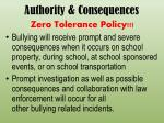 authority consequences