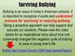 surviving bullying
