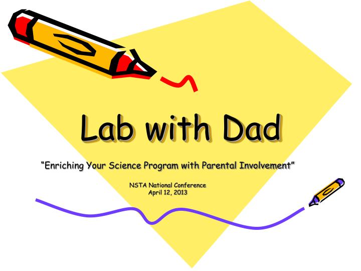 lab with dad n.
