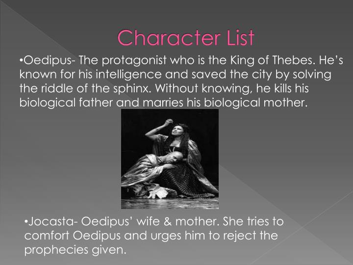 archetype in oedipus the king A short definition of the word hubris is generally presented in two words: excessive pride in the literary world and the world of the greeks, this was also true but had one added element.