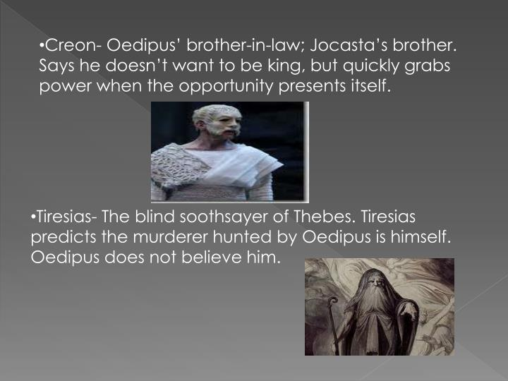 creon oedipus the king