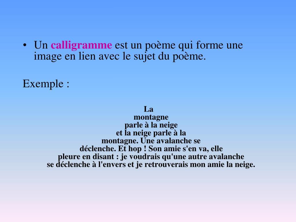 Ppt Document Sur La Poésie Théorie Powerpoint