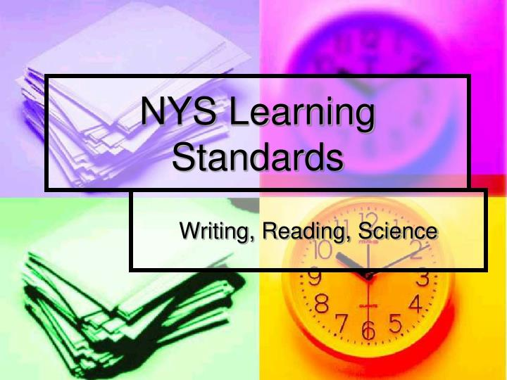 nys learning standards n.