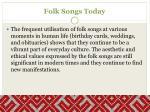 folk songs today1