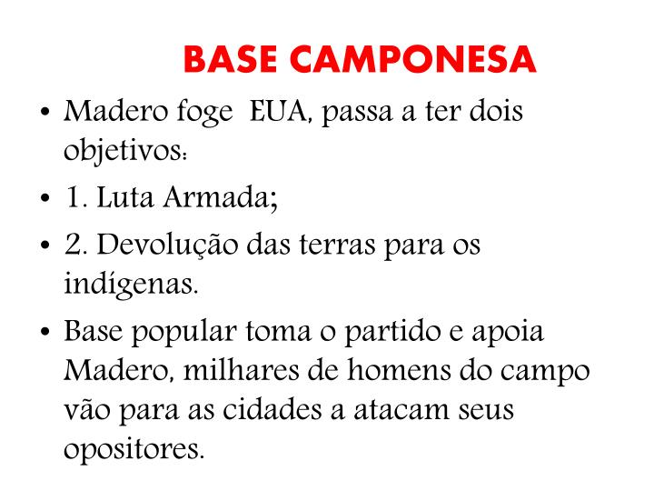 BASE CAMPONESA