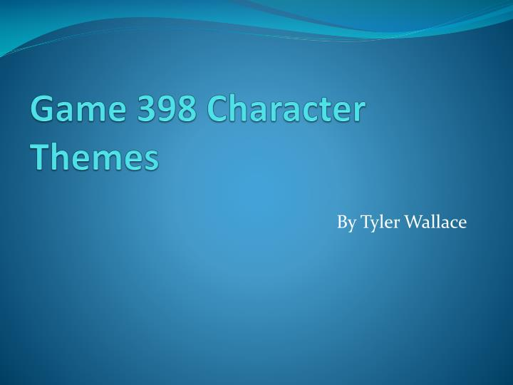 game 398 character themes n.