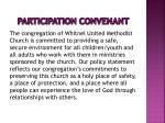 participation convenant