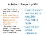 ablative of respect p 334