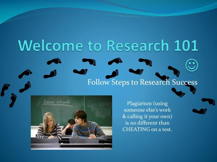 welcome to research 101 n.