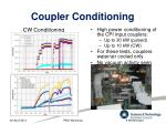 coupler conditioning1