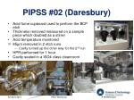 pipss 02 daresbury