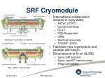 srf cryomodule