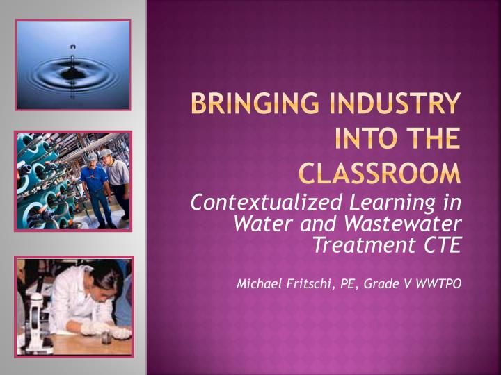 bringing industry into the classroom n.