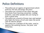 police definitions