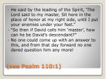 see psalm 110 1