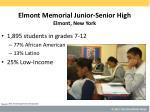 elmont memorial junior senior high elmont new york