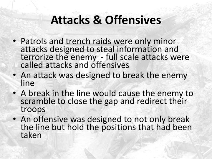 Attacks & Offensives