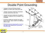 double point grounding