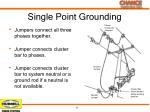 single point grounding