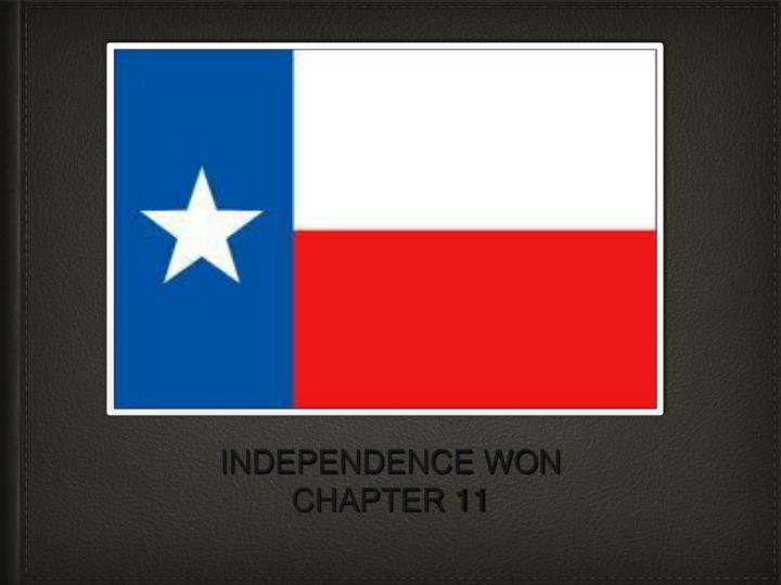 independence won chapter 11 n.