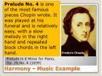 harmony music example