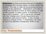 key modulation
