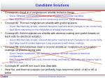 candidate solutions1