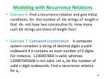 modeling with recurrence relations5