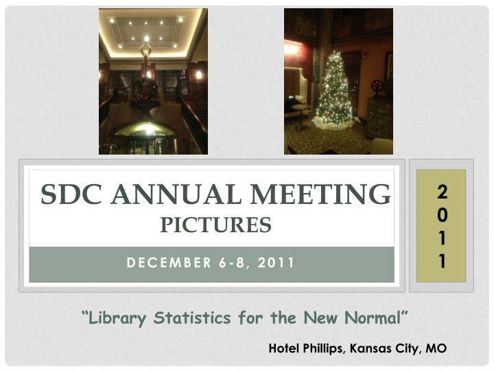 sdc annual meeting pictures n.