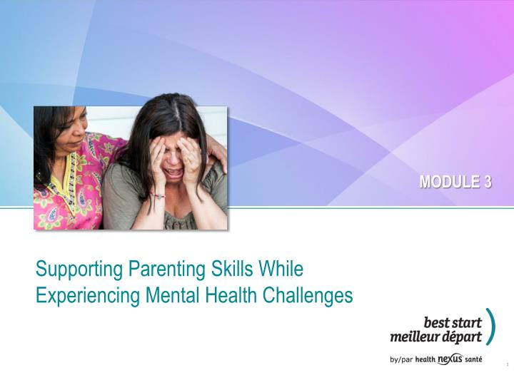supporting parenting skills while experiencing mental health challenges n.