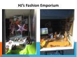 hj s fashion emporium