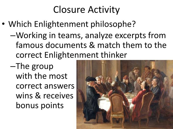 closure activity n.