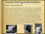 events during colonization1