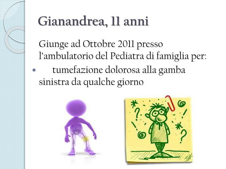 Gianandrea 11 anni