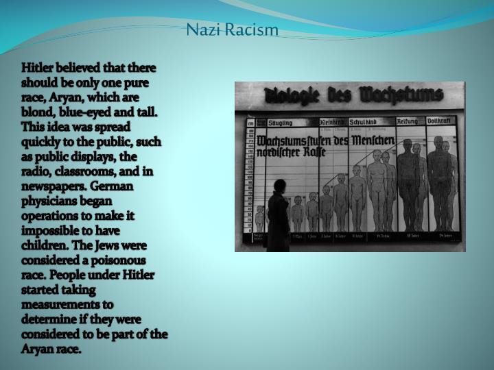 Nazi Racism