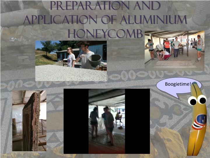 Preparation and Application of Aluminium Honeycomb