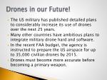 drones in our future