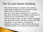 the us and nation building