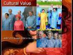 cultural value