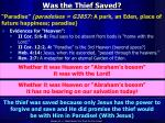 was the thief saved2